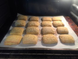 Baking...yum!
